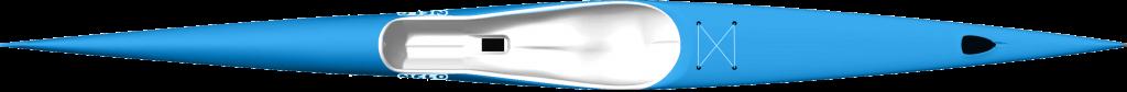 Nelo 550 surfski