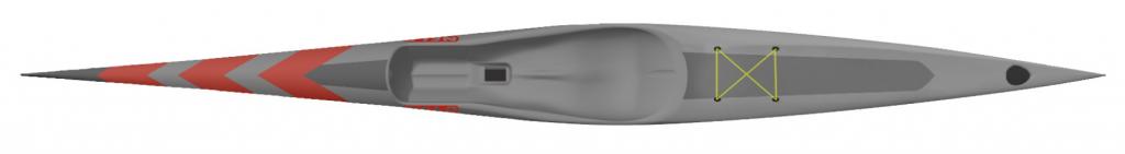 Viper 46 surfski